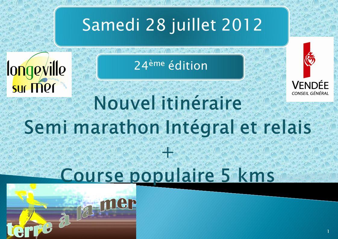 Semi marathon Intégral et relais