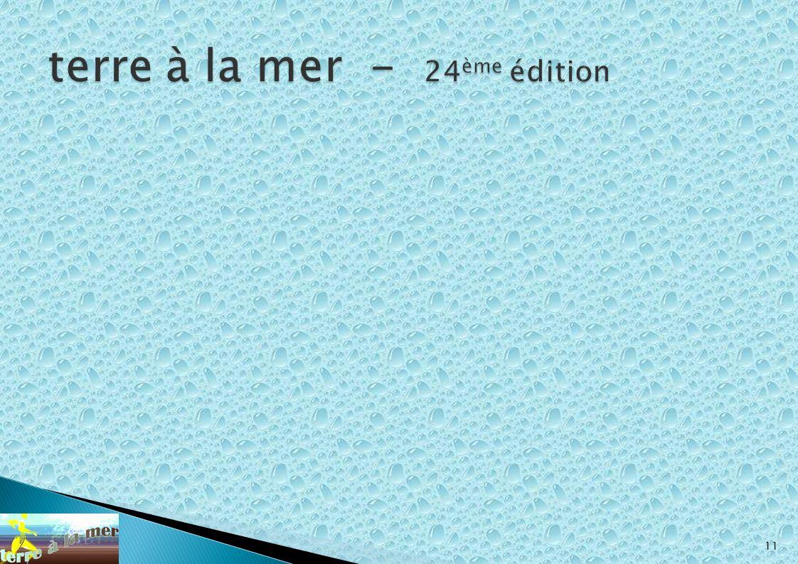 terre à la mer - 24ème édition