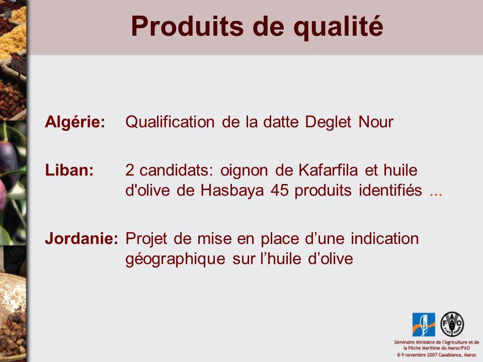 Produits de qualité Algérie: Qualification de la datte Deglet Nour