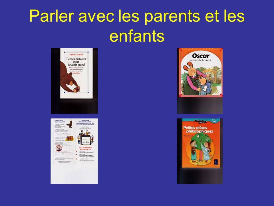 Parler avec les parents et les enfants