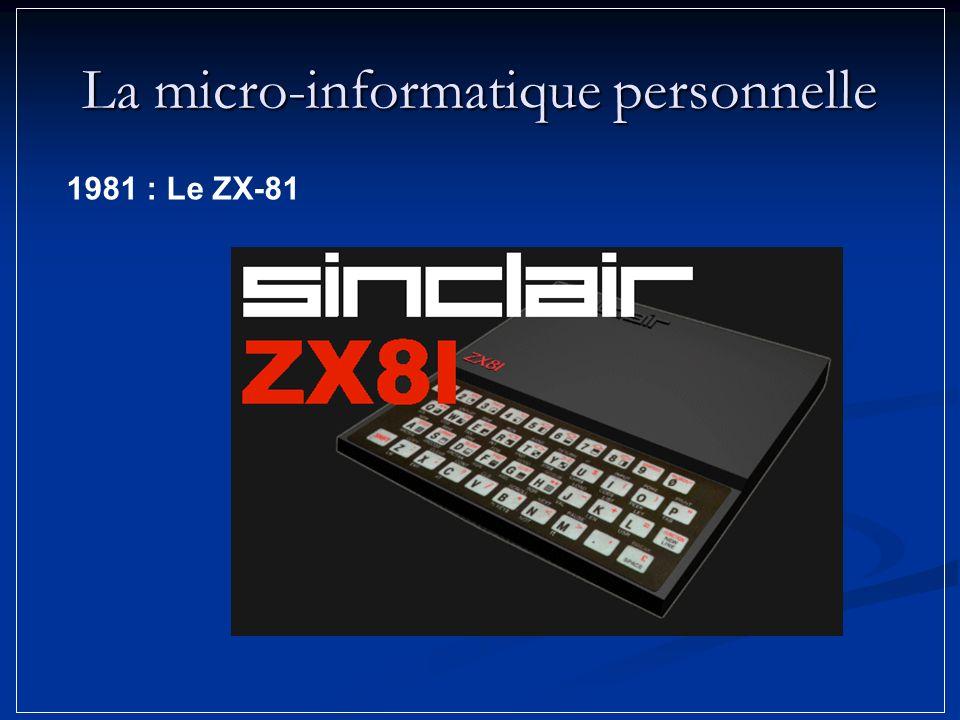 La micro-informatique personnelle