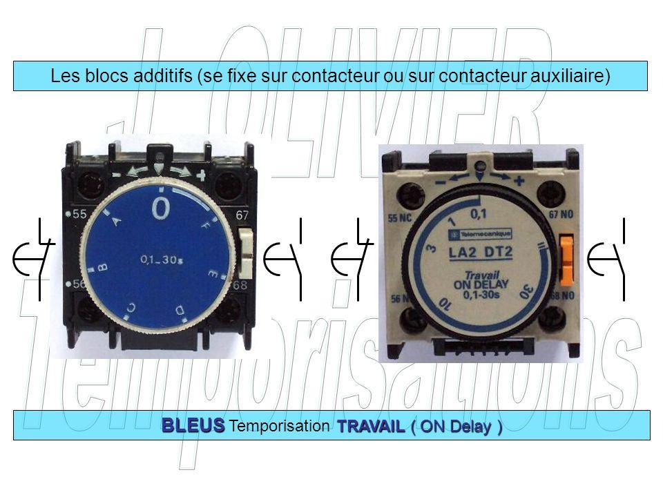 BLEUS Temporisation TRAVAIL ( ON Delay )