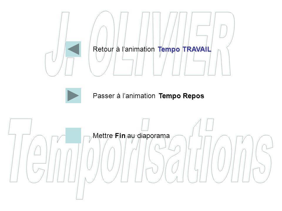 Retour à l'animation Tempo TRAVAIL