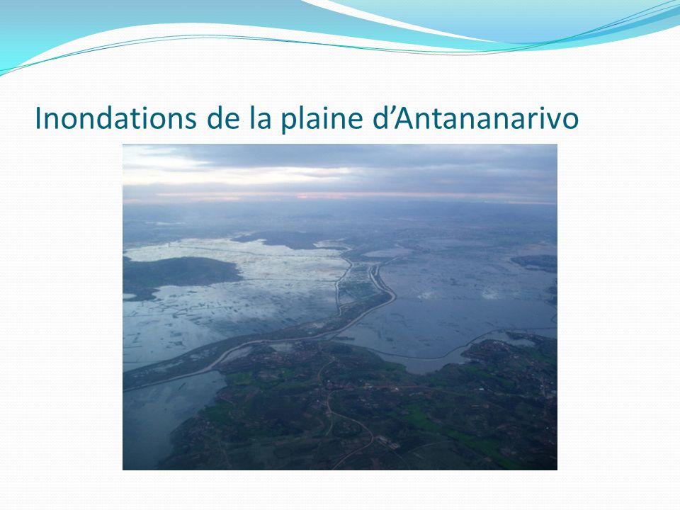 Inondations de la plaine d'Antananarivo