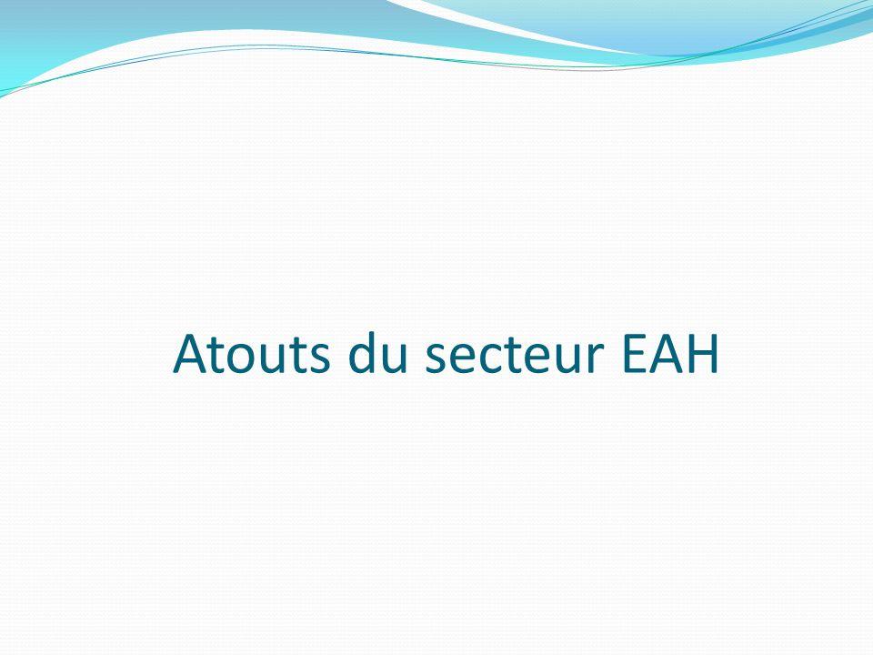 Atouts du secteur EAH