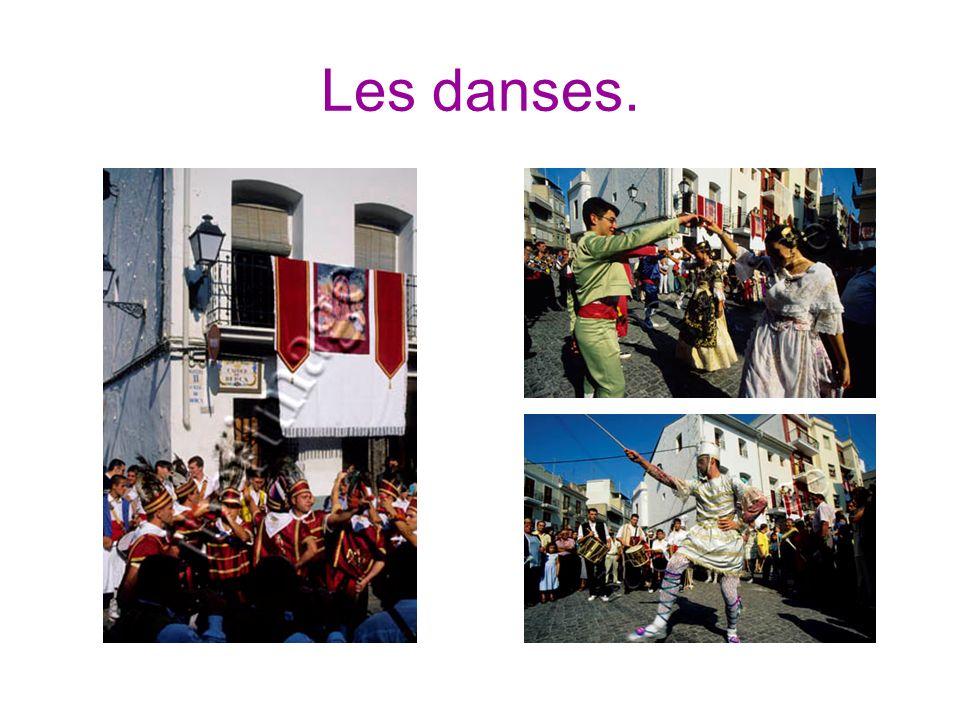 Les danses.