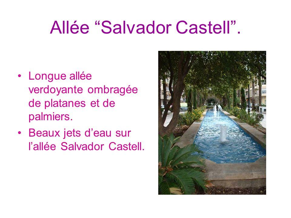Allée Salvador Castell .