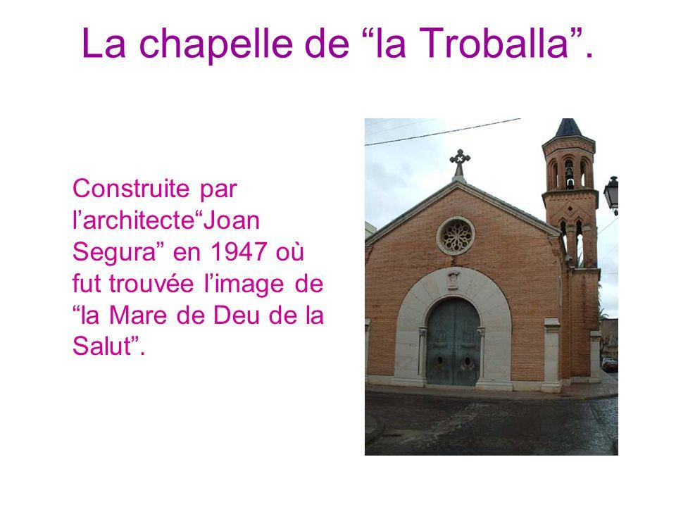 La chapelle de la Troballa .