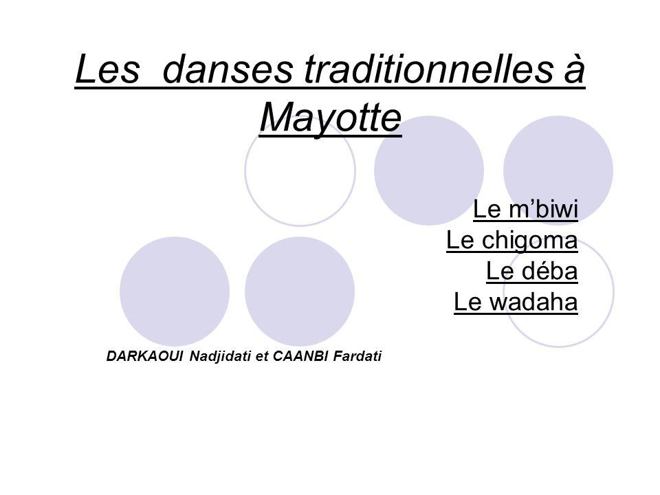 Les danses traditionnelles à Mayotte