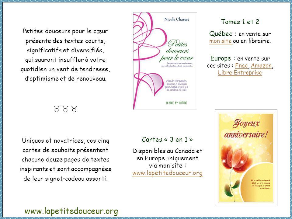 www.lapetitedouceur.org Tomes 1 et 2