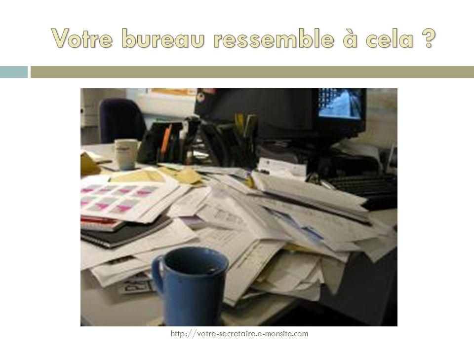 Votre bureau ressemble à cela