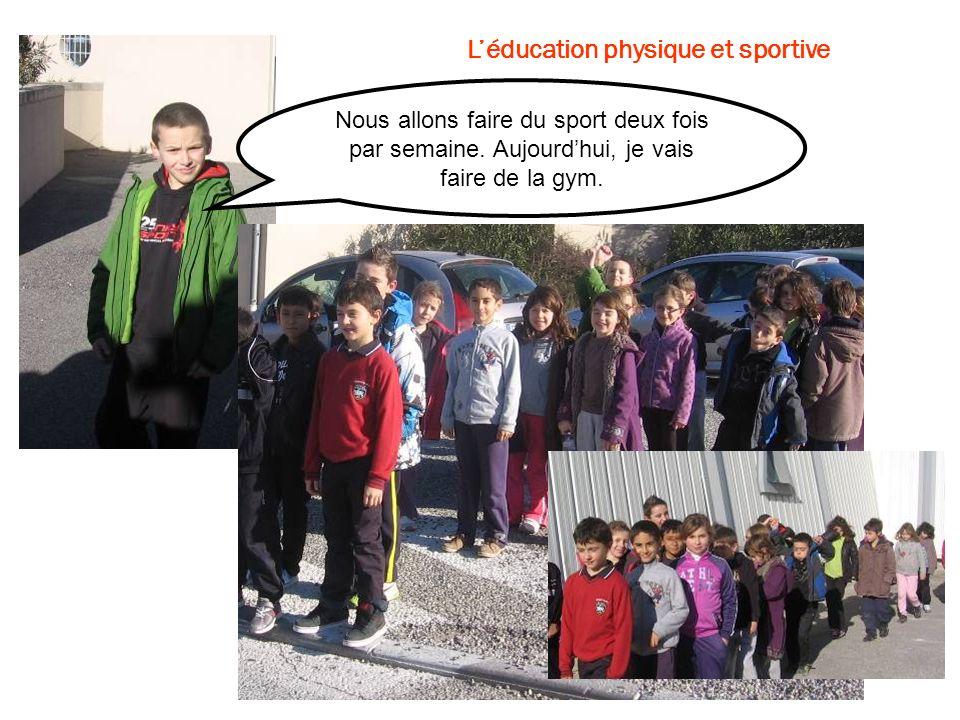 L'éducation physique et sportive