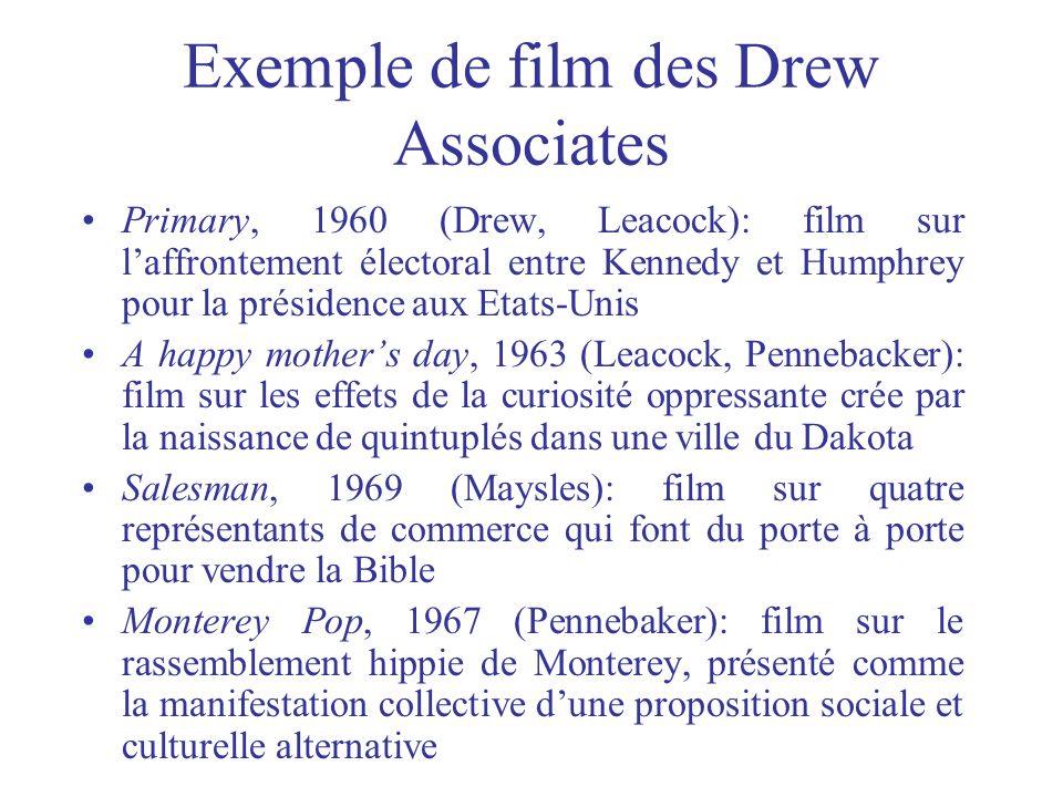 Exemple de film des Drew Associates