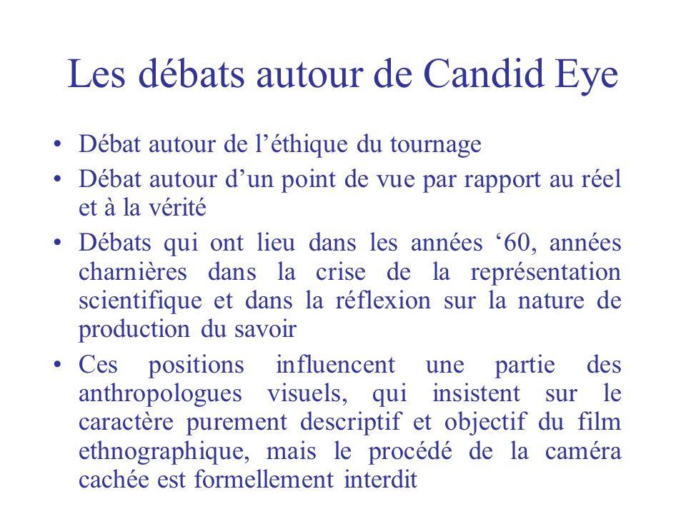 Les débats autour de Candid Eye