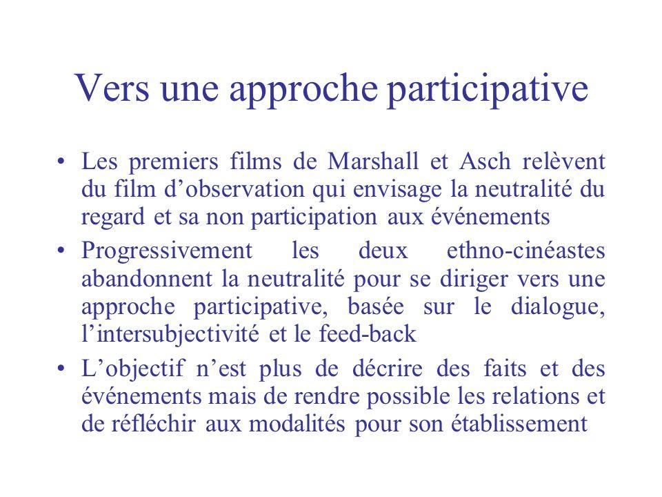Vers une approche participative