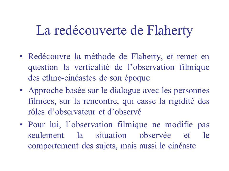 La redécouverte de Flaherty