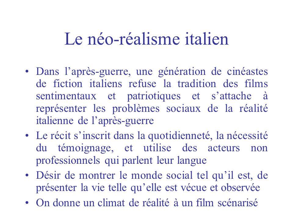 Le néo-réalisme italien