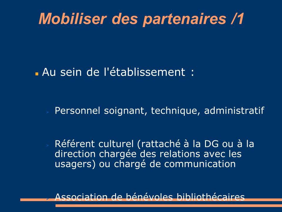 Mobiliser des partenaires /1