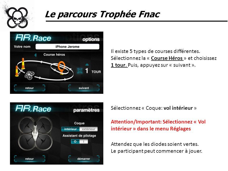 Le parcours Trophée Fnac
