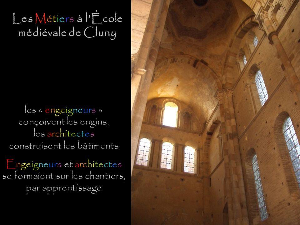 Les Métiers à l'École médiévale de Cluny