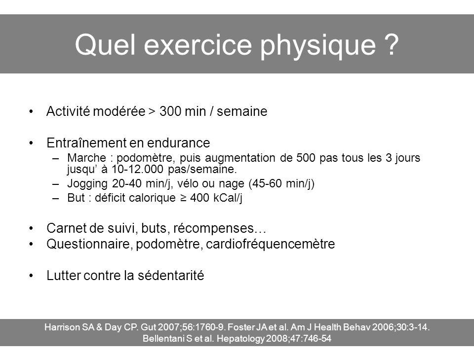Quel exercice physique