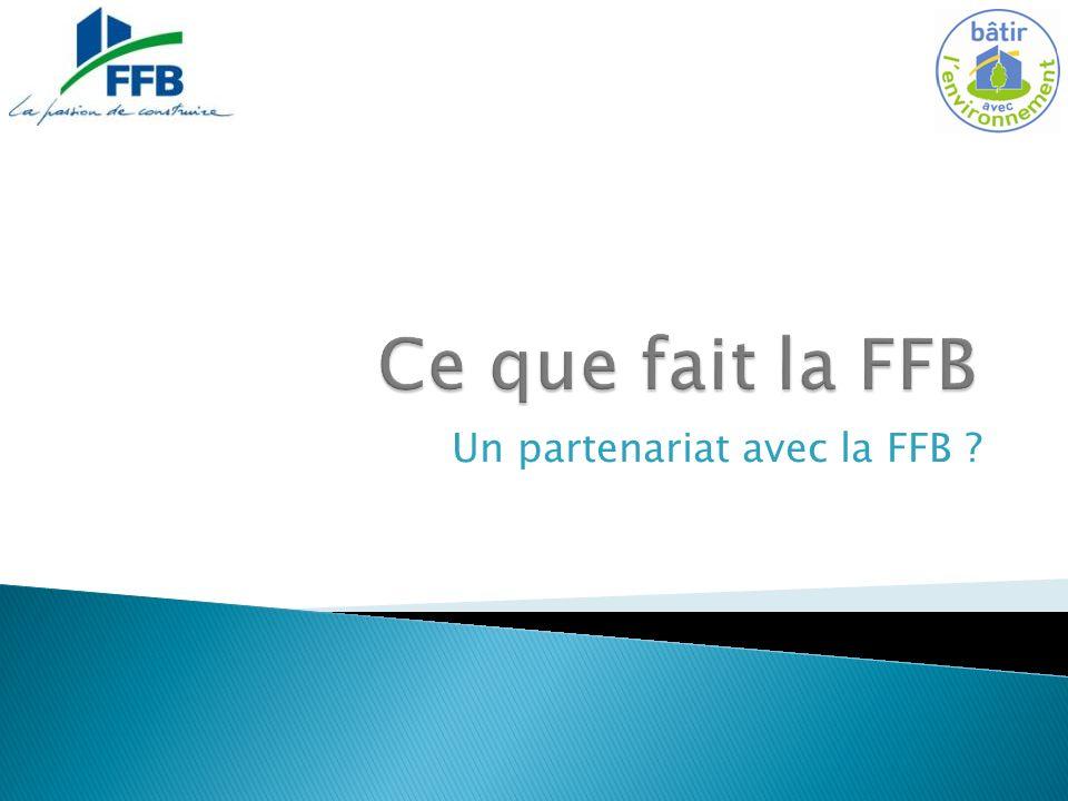 Un partenariat avec la FFB