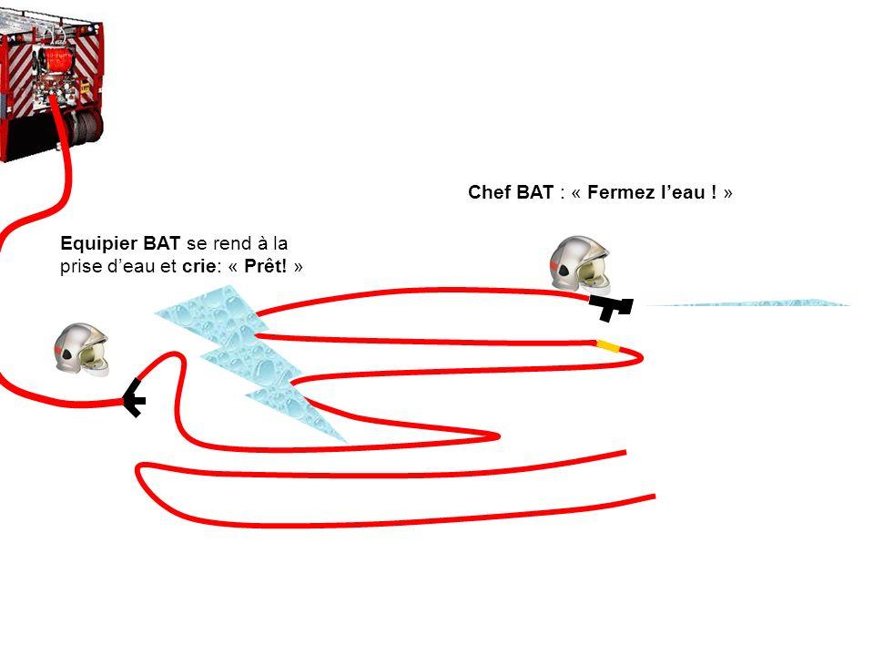 Chef BAT : « Fermez l'eau ! »