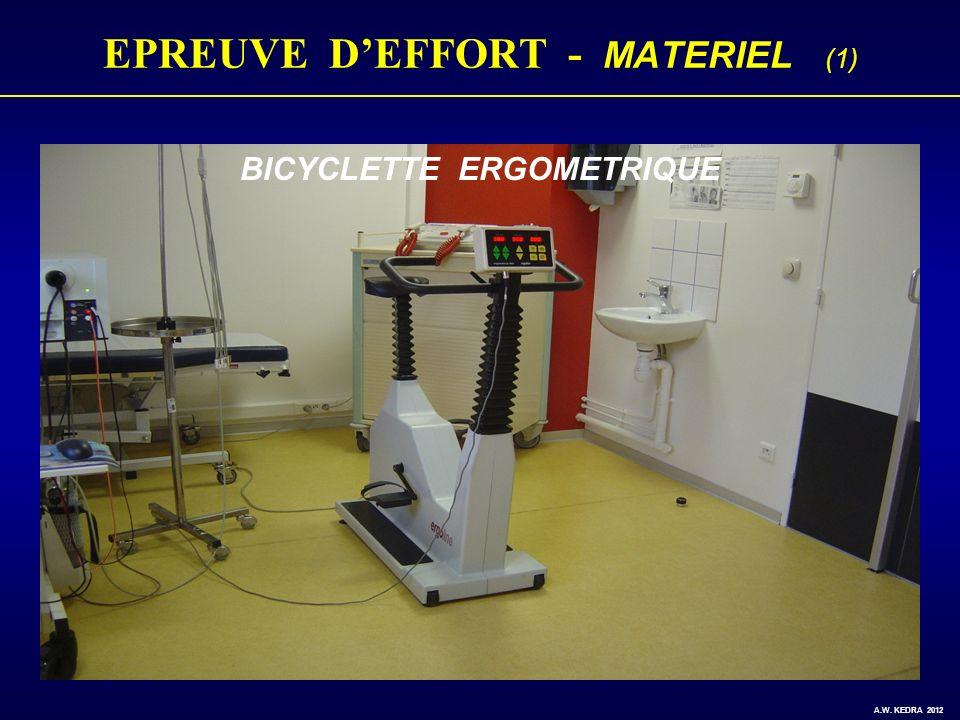 EPREUVE D'EFFORT - MATERIEL (1)