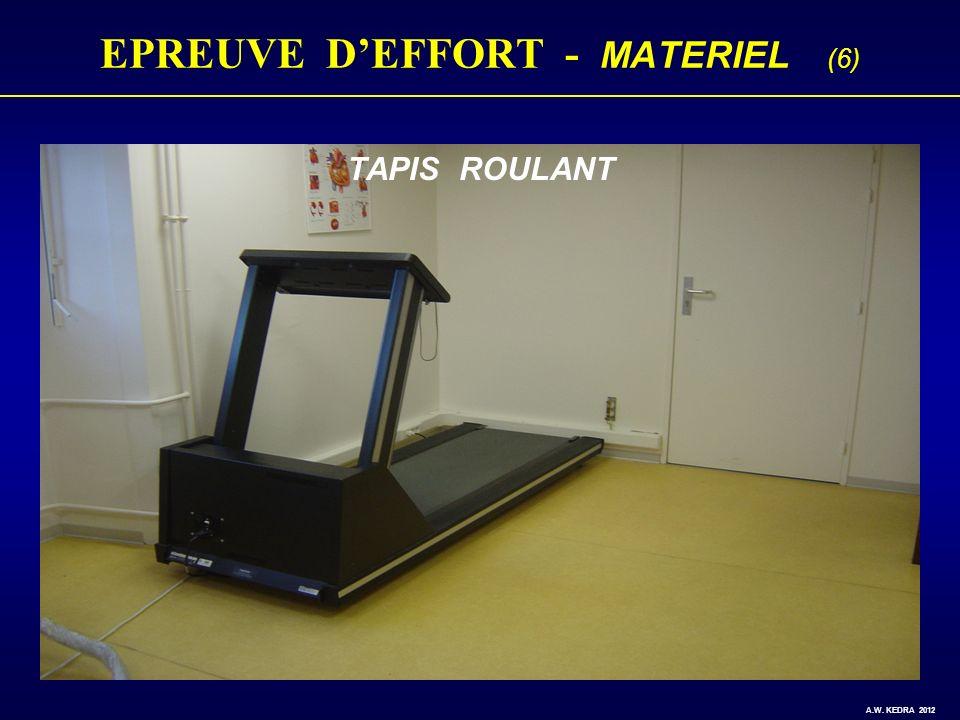 EPREUVE D'EFFORT - MATERIEL (6)