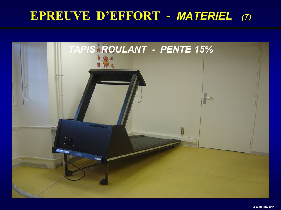 EPREUVE D'EFFORT - MATERIEL (7)