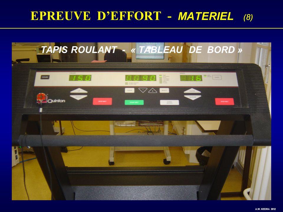 EPREUVE D'EFFORT - MATERIEL (8)