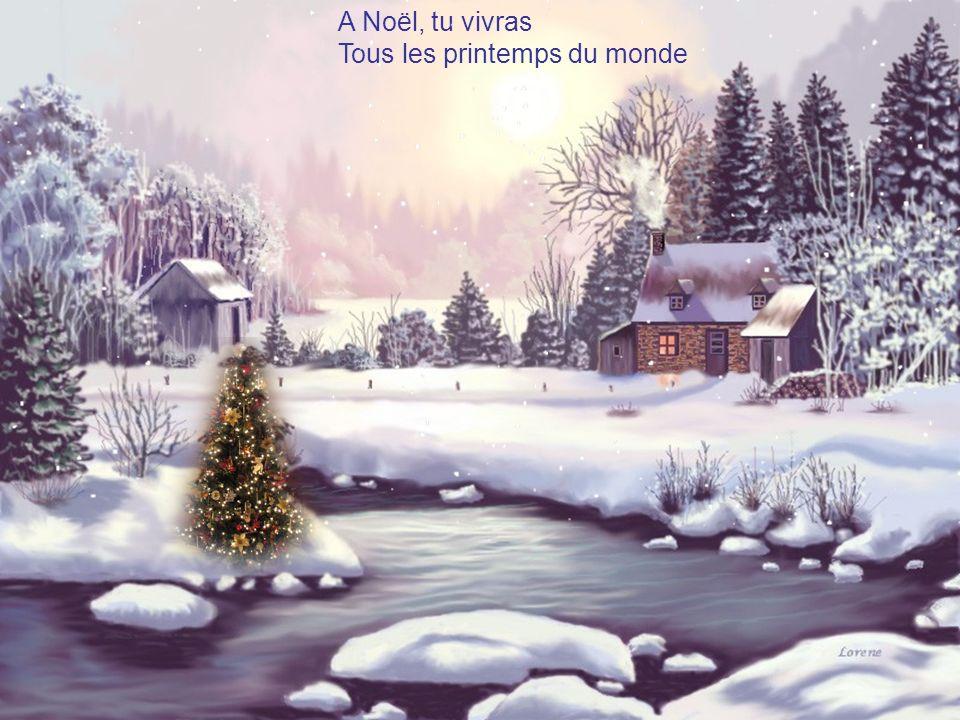 A Noël, tu vivras Tous les printemps du monde