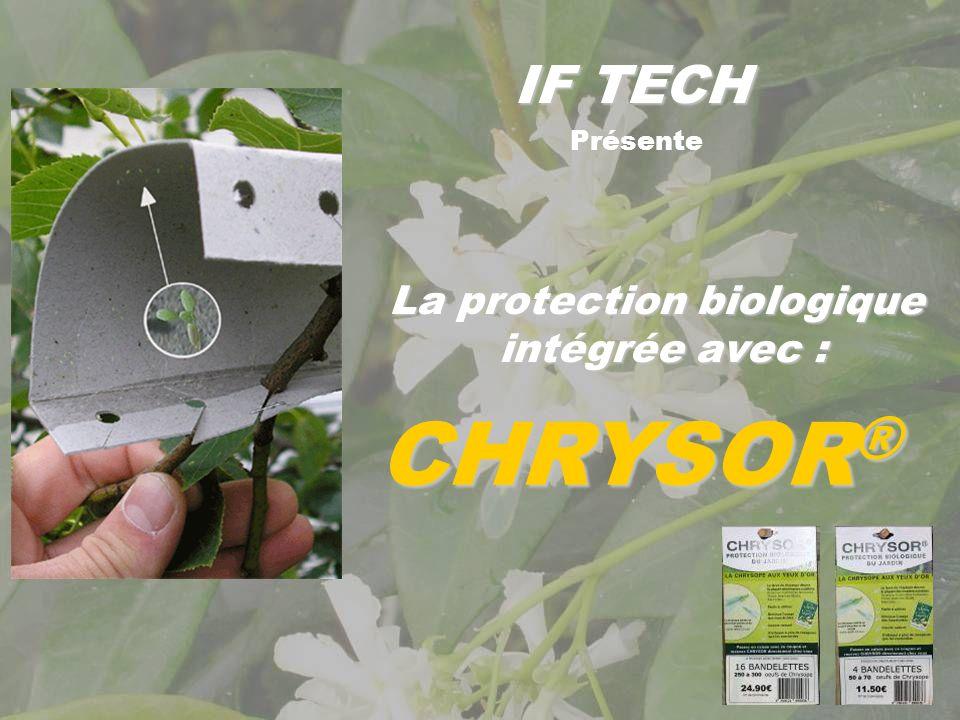 La protection biologique intégrée avec :