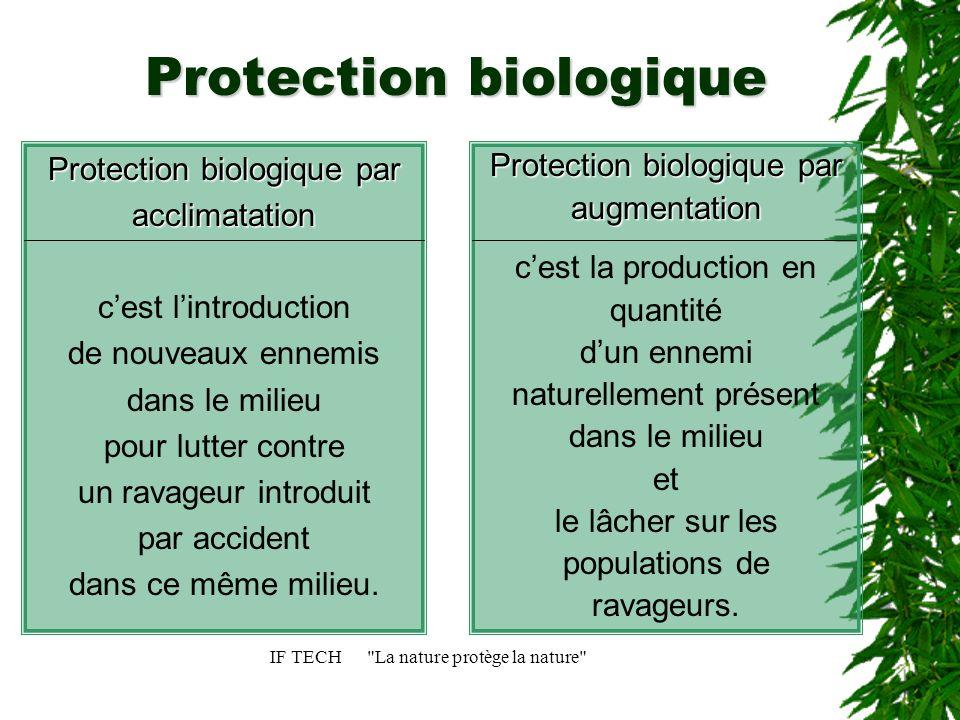 Protection biologique