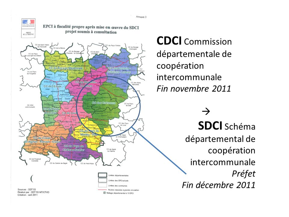 CDCI Commission départementale de coopération intercommunale