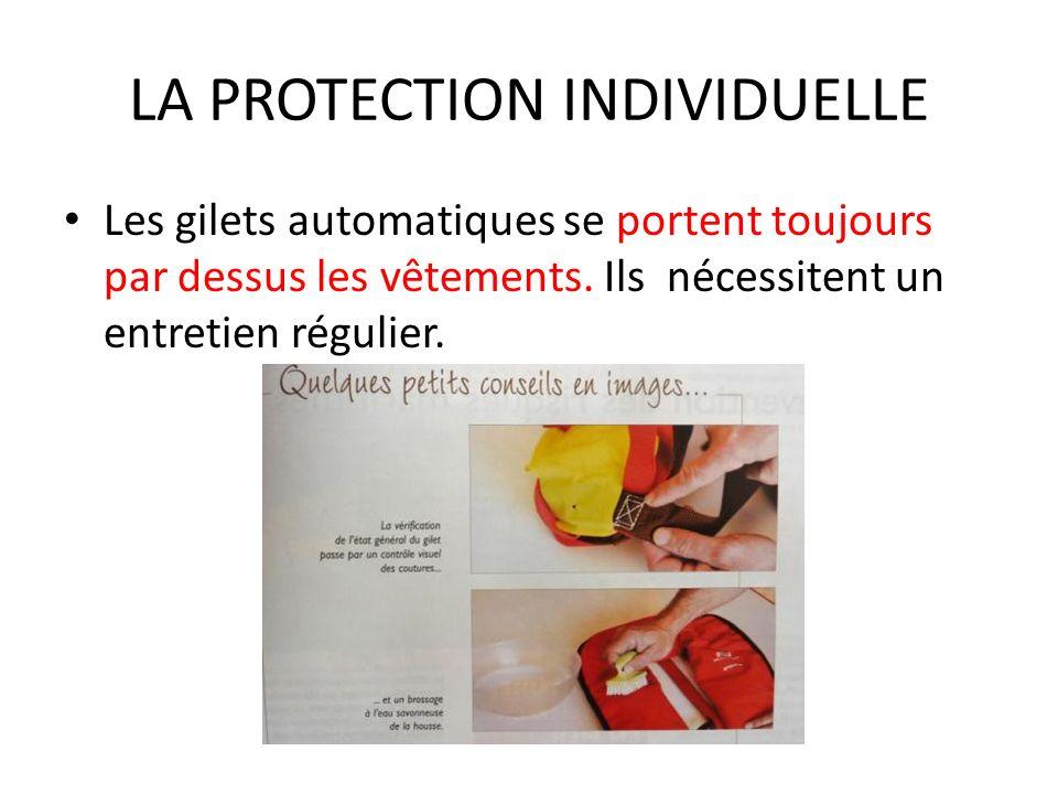 LA PROTECTION INDIVIDUELLE