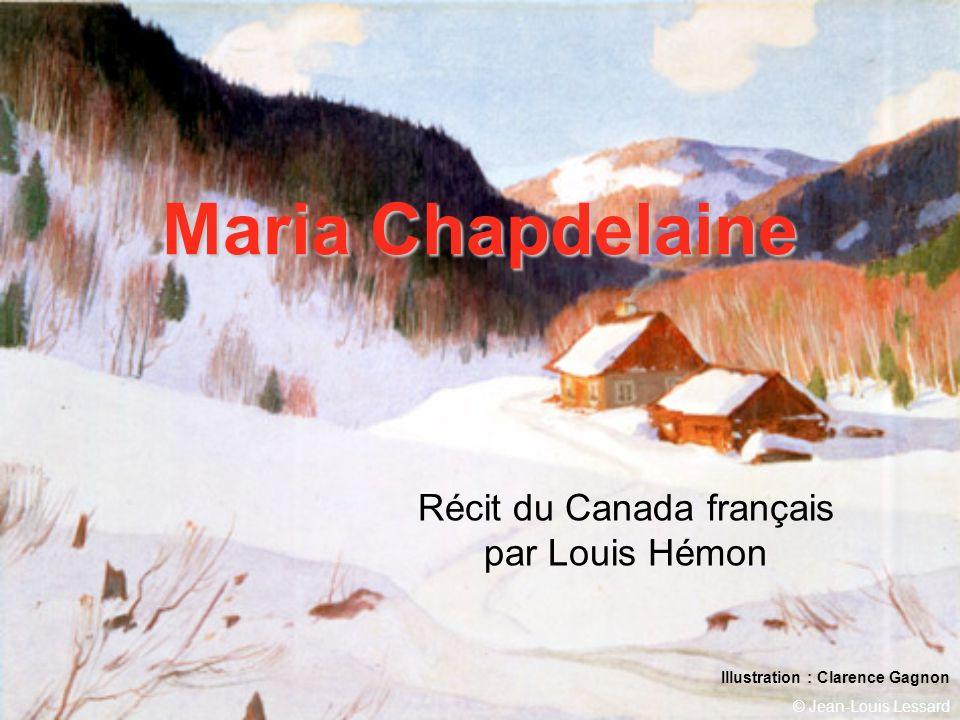 Récit du Canada français par Louis Hémon