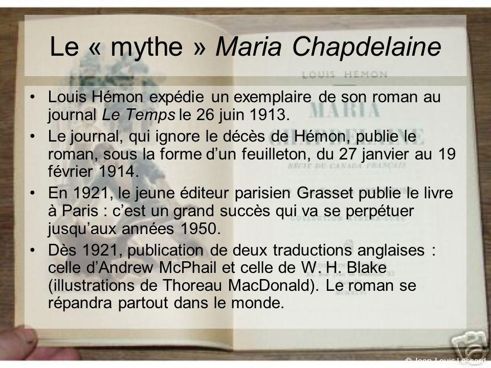 Le « mythe » Maria Chapdelaine