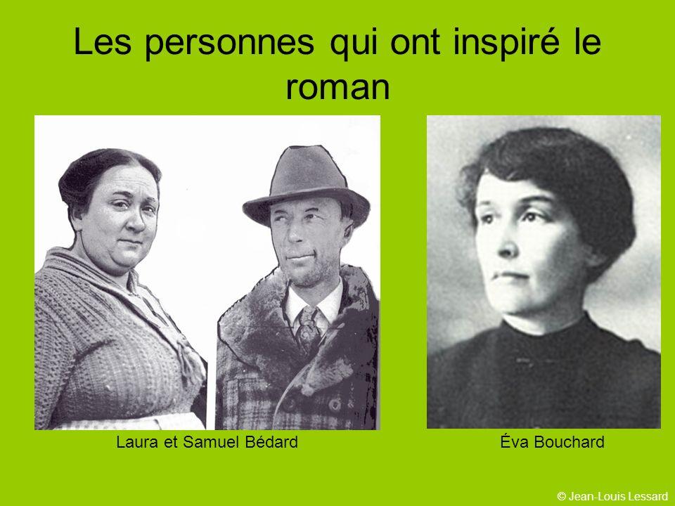 Les personnes qui ont inspiré le roman