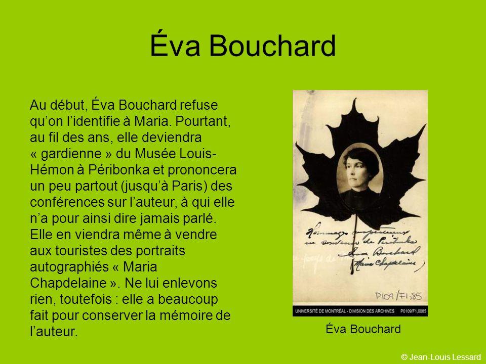Éva Bouchard Éva Bouchard.