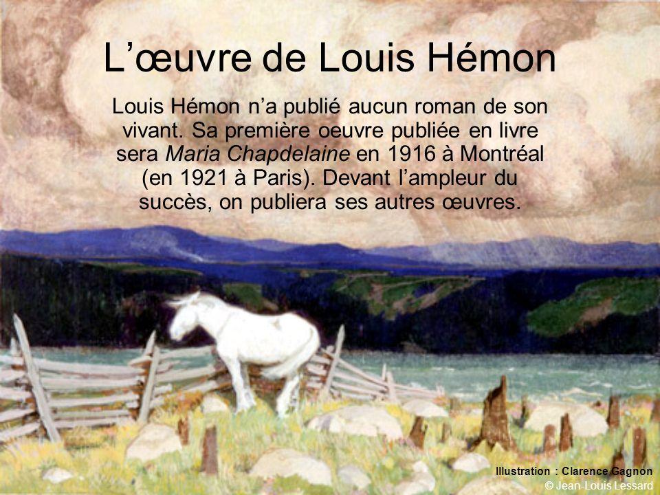 L'œuvre de Louis Hémon