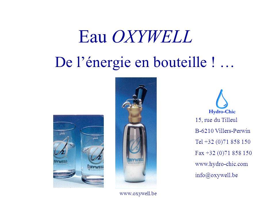 De l'énergie en bouteille ! …