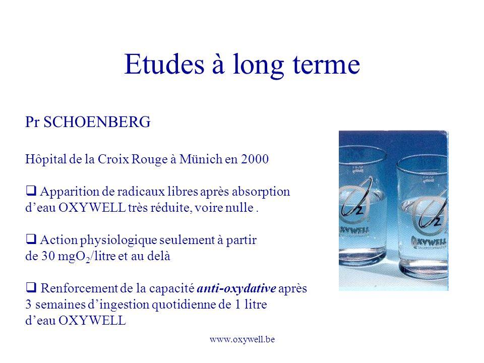 Etudes à long terme Pr SCHOENBERG