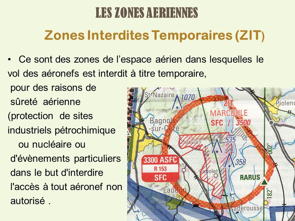 Zones Interdites Temporaires (ZIT)