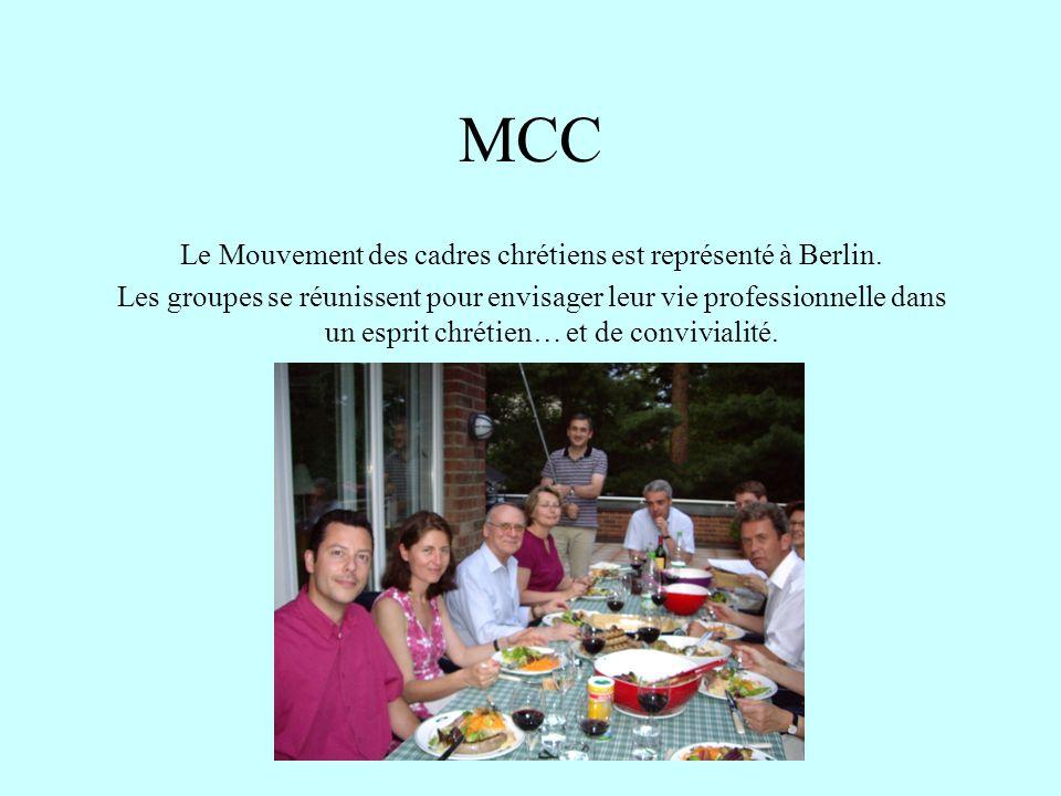 Le Mouvement des cadres chrétiens est représenté à Berlin.