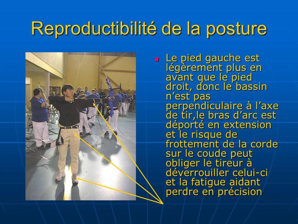 Reproductibilité de la posture
