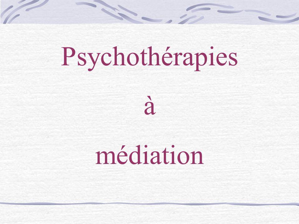 Psychothérapies à médiation