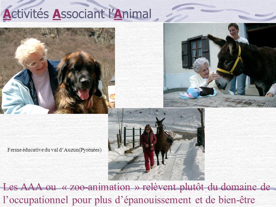 Activités Associant l'Animal