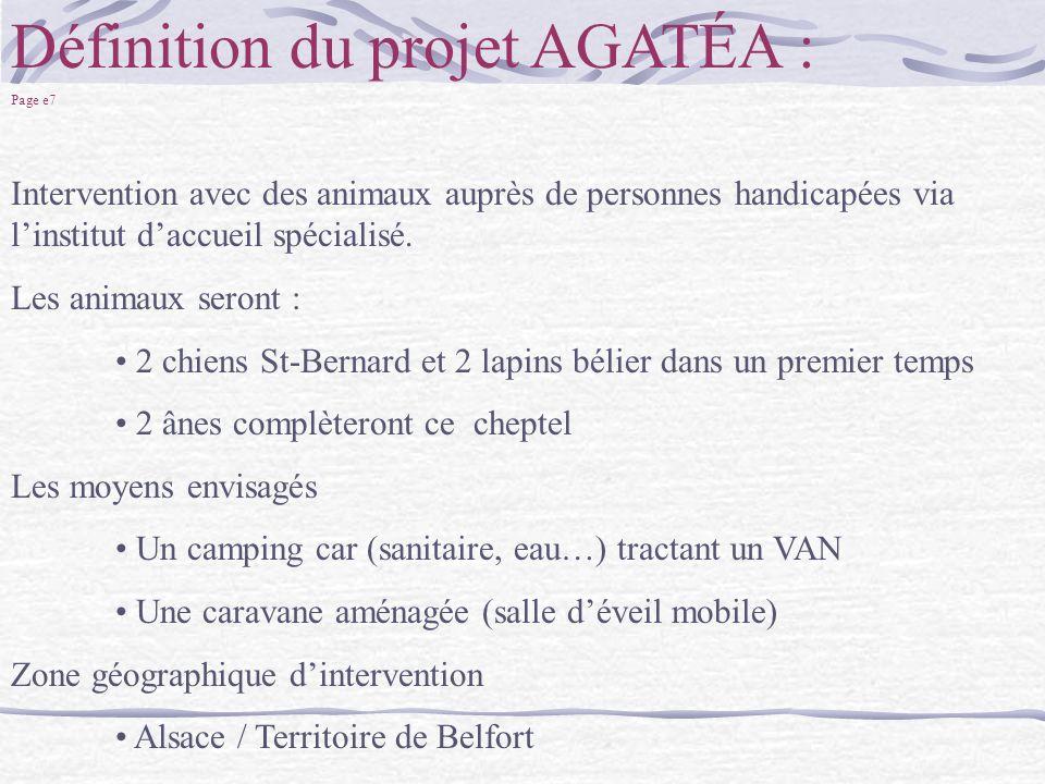 Définition du projet AGATÉA :