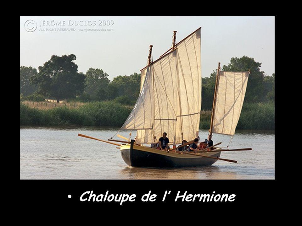 Chaloupe de l' Hermione